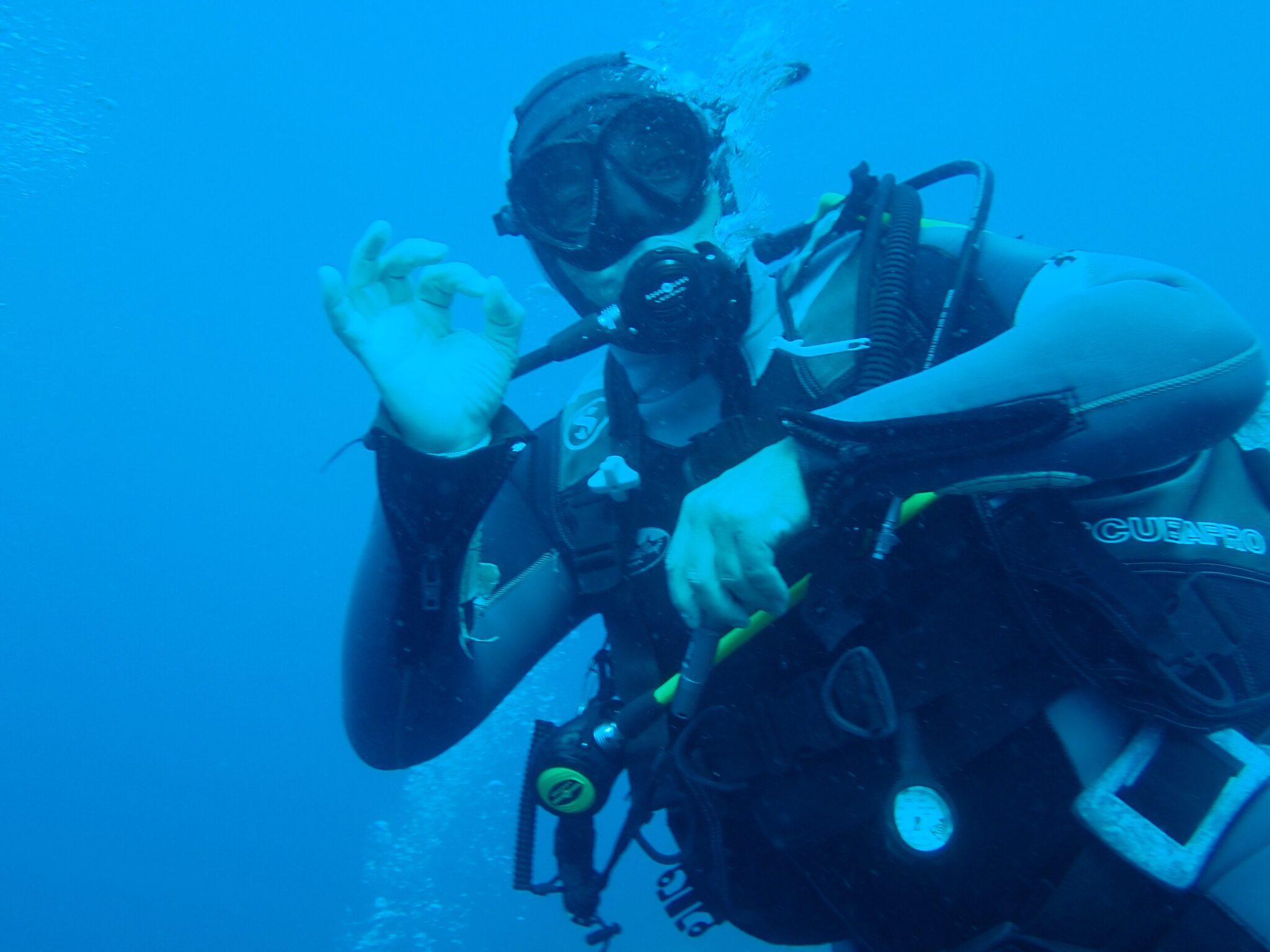 Plongée avec la Plongée Aigle nautique, en famille