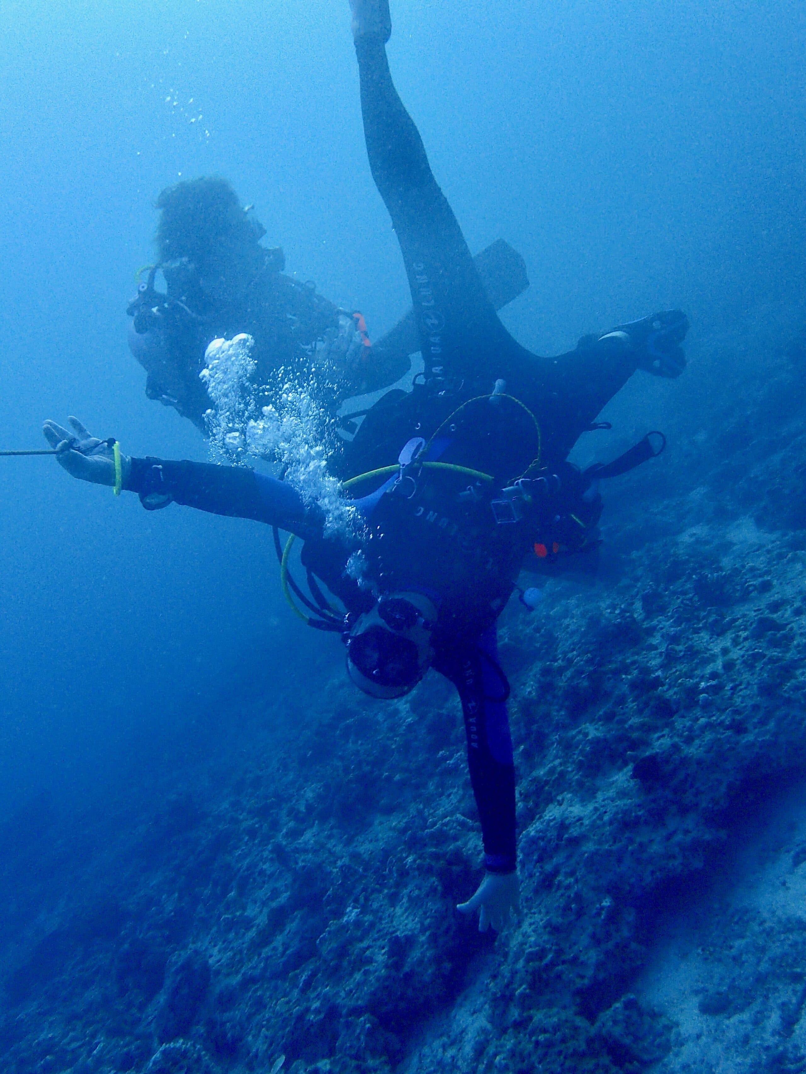 bien respirer sous l'eau