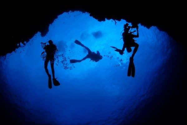 plongée nuit