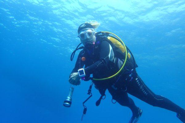 Deep blu, plongée à Nice