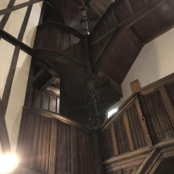 escalier à vis breton