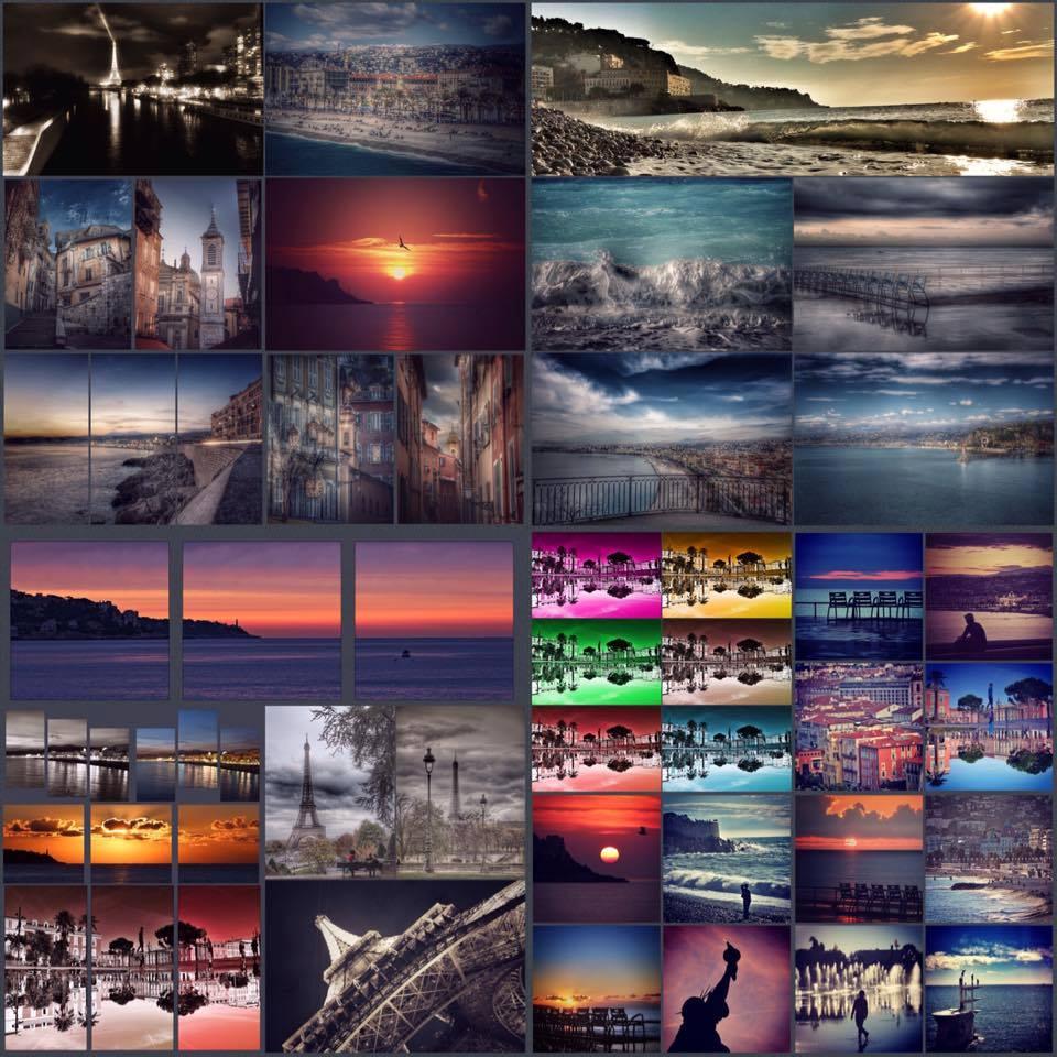 Vues de Nice pour les amateurs de voyage plongée par Olivier Penacchio