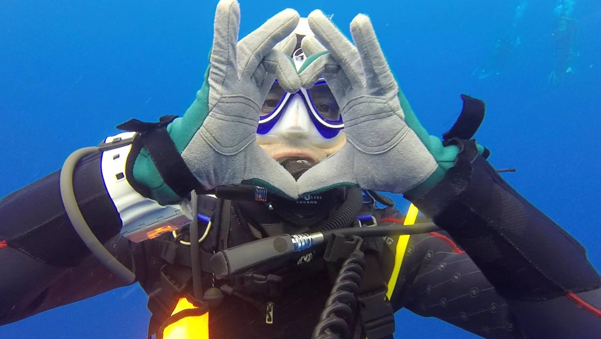 Paul Maury, plongeur passionnée, créateur de la page Facebook La Beauté de la Plongée