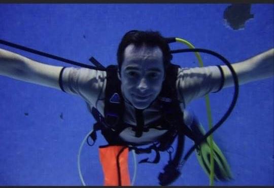 Paul Maury, plongeur passionné