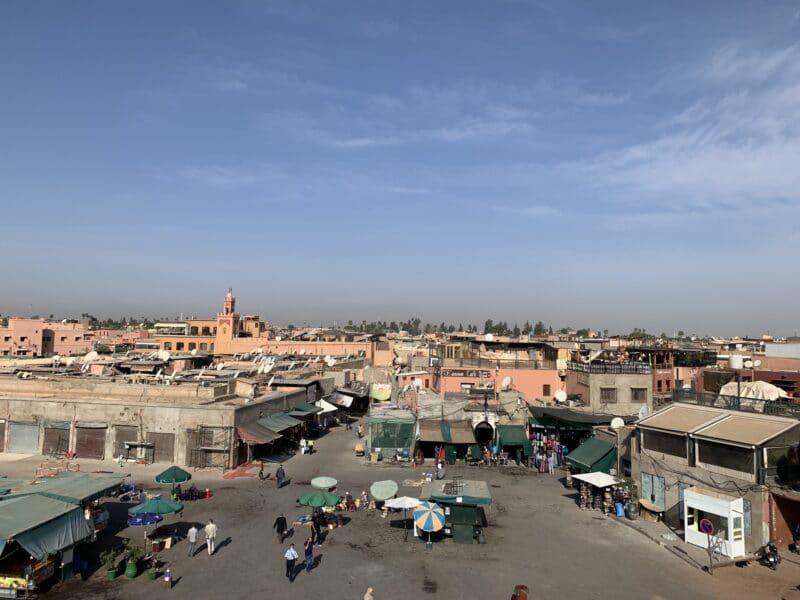 Voyage Maroc Place Jeema-El-Fna